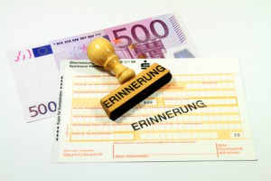 Zahlungserinnerung